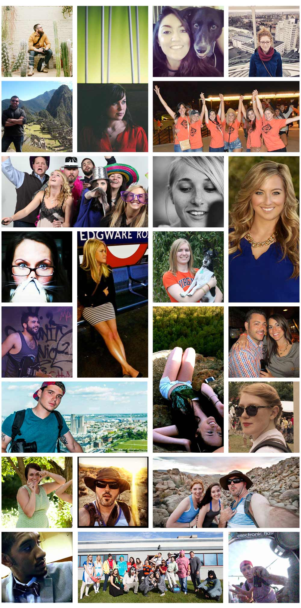 the greekyearbook crew - individual photos of everyone