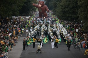 Parade at Baylor