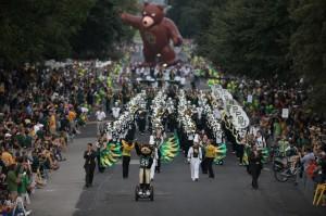 Parade at Baylor