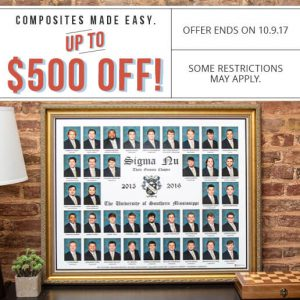 Fall Composite Sale - Up to $500 off