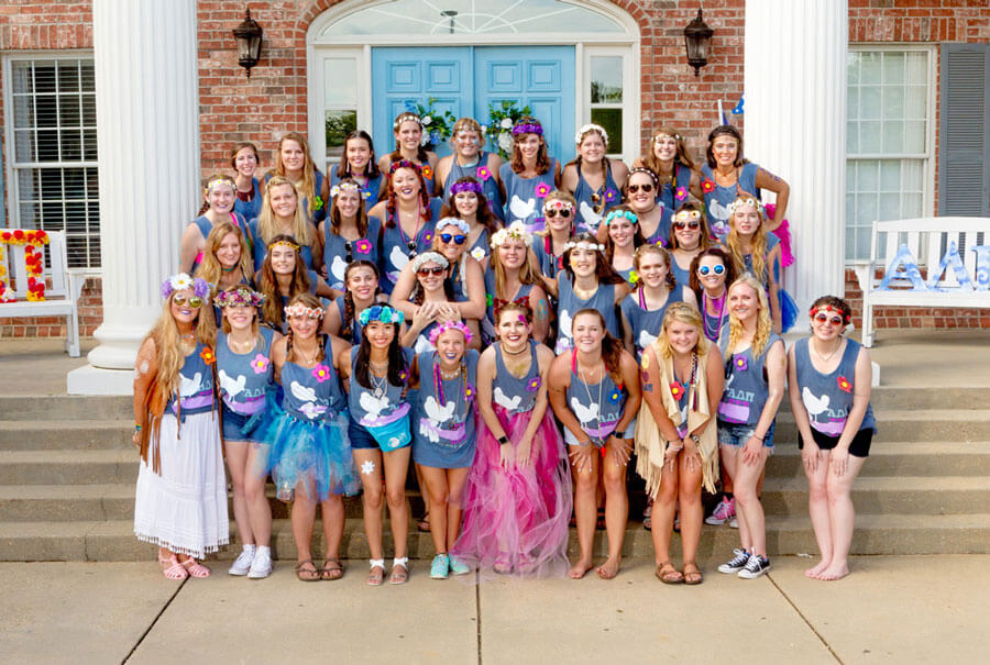 ADPi Bid Day Photo