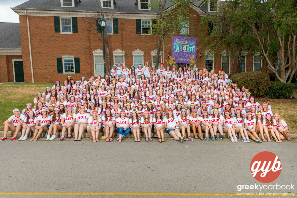Bid Day Photo of the Week finalist!