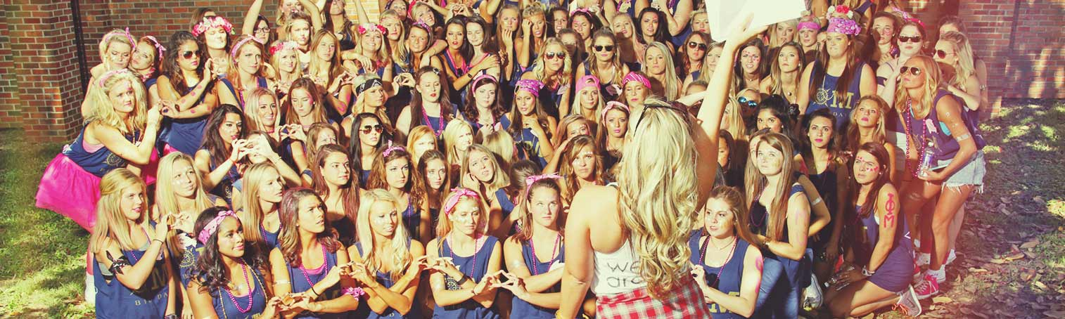 sorority fundraising en masse