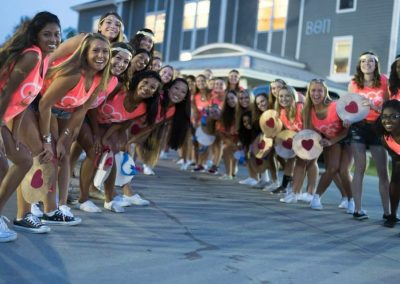 Alpha Chi Omega Bid Day at UConn