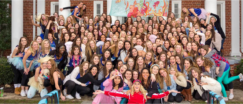 Zeta Tau Alpha Bid Day