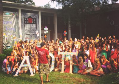 Bid Day Photography
