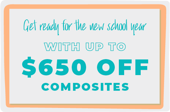 Get Up to $650 Off Composites