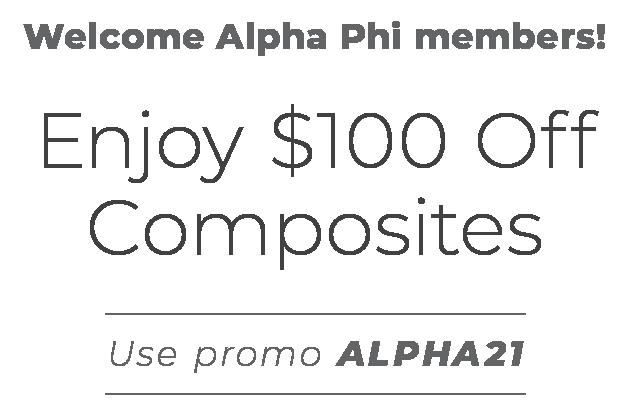 Enjoy up to  $100 OFF Composites